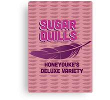 Sugar Quills - Harry Potter Canvas Print