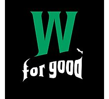 Wicked for good Photographic Print