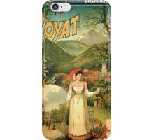 Gustave Fraipont Affiche PLM Royat iPhone Case/Skin