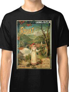Gustave Fraipont Affiche PLM Royat Classic T-Shirt