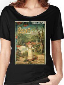 Gustave Fraipont Affiche PLM Royat Women's Relaxed Fit T-Shirt