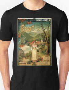 Gustave Fraipont Affiche PLM Royat T-Shirt