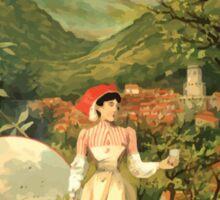 Gustave Fraipont Affiche PLM Royat Sticker
