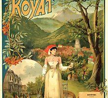 Gustave Fraipont Affiche PLM Royat by wetdryvac