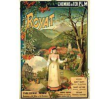 Gustave Fraipont Affiche PLM Royat Photographic Print