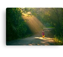 spot light of the forest!! Canvas Print