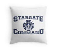 Stargate Command Athletics Throw Pillow