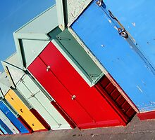 Beach Huts in Hove by Clive Reedman