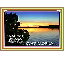 TWEED RIVER SUNSETS Photographic Print