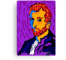 Portrait Of Vincent Canvas Print