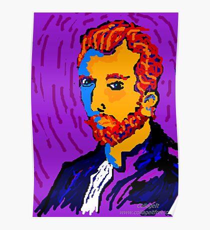 Portrait Of Vincent Poster