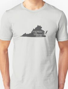Virginia Everywhere Else Sucks Unisex T-Shirt