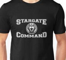 Stargate Command Athletics - white Unisex T-Shirt