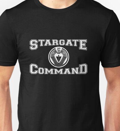 Stargate Command Athletics - white Unisex T-Shirt