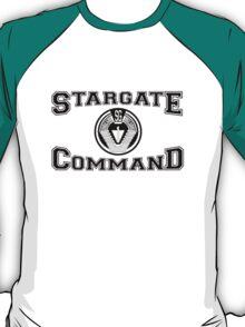 Stargate Command Athletics - black T-Shirt