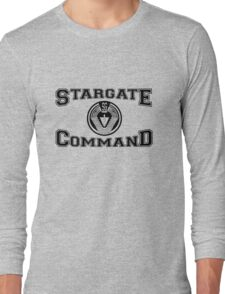 Stargate Command Athletics - black Long Sleeve T-Shirt