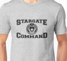 Stargate Command Athletics - black Unisex T-Shirt