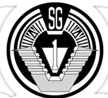 Stargate Command Athletics - black Sticker