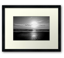 Freezing Pacific Framed Print