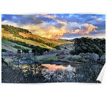 Russian River / Jenner, California Poster