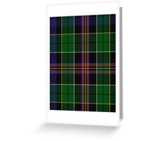 00504 Allison (MacGregor - Hastie) Tartan  Greeting Card