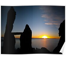 Lake Titicaca Sunset - Copacabana, Bolivia Poster