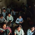 Village School, Rajasthan by Christopher Cullen