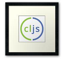 Clojure Script Logo Framed Print