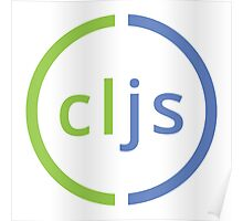 Clojure Script Logo Poster