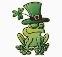 Saint Patrick's Day Frog Kids Clothes