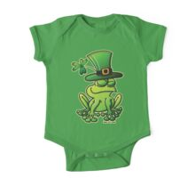 Saint Patrick's Day Frog One Piece - Short Sleeve