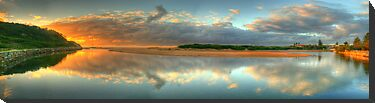 Day Dream Believer (35 Exposure HDR Panorama) - Narrabeen Lakes Entrance, Sydney - The HDR Experience by Philip Johnson