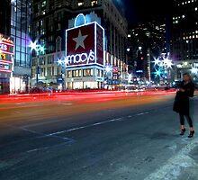 Hail A Cab - New York by Sam Ahmadi