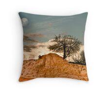 Mungo Moon Throw Pillow