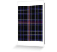00506 Apache Tartan  Greeting Card