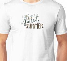 So Long, Sweet Summer Unisex T-Shirt