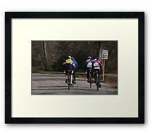 Bear Creek Ride  Framed Print