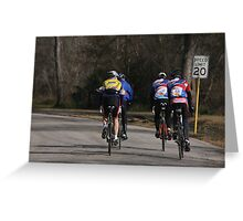 Bear Creek Ride  Greeting Card