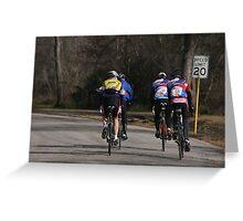 Bear Creek Ride  Greeting Card