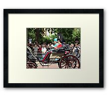 Queen and Prince Philip Framed Print