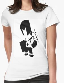 castle crashers shadow knight Womens Fitted T-Shirt