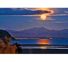 Moonrise over Snowdon Photographic Print