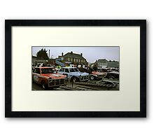 classic stock cars Framed Print