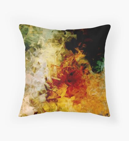 Space Cubed No.1 Throw Pillow