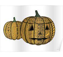 Jack-O-Lanterns Poster