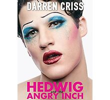 Darren Criss - Hedwig Poster Photographic Print