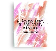 Loving Wisdom Canvas Print
