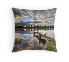 Starting the day Throw Pillow