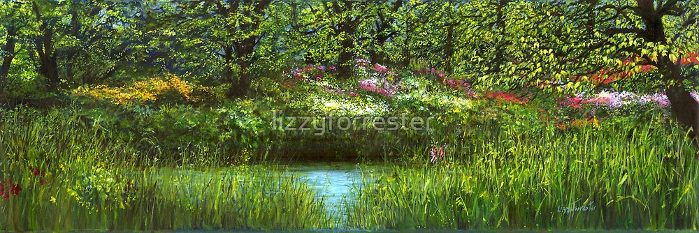 Blooming Riverside  by lizzyforrester