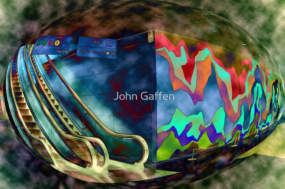 CaixaForum Bubble  by John Gaffen